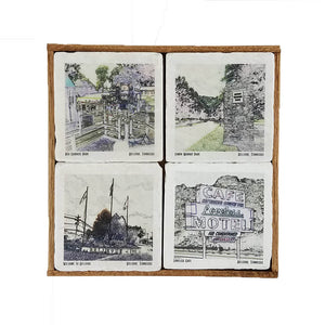 Bellevue Coaster Set - Down Home Products