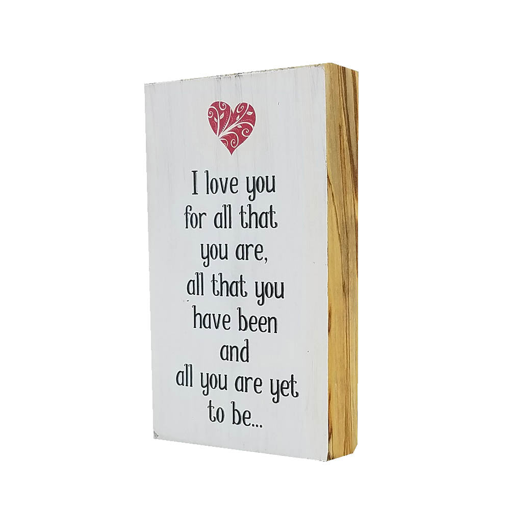All That You Are Shelf Decor - Down Home Products