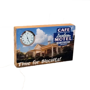 Loveless Motel Clock - Down Home Products