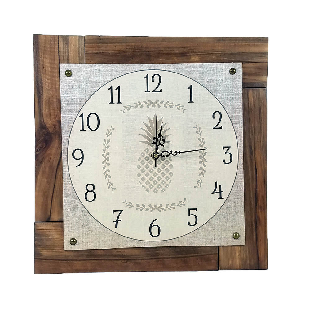 Pineapple Clock - Down Home Products