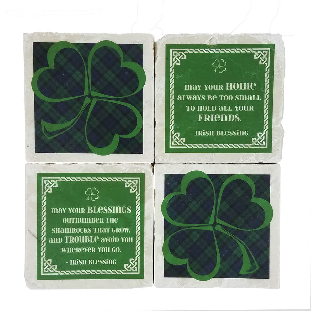 St. Patrick's Day Coaster Set - Down Home Products