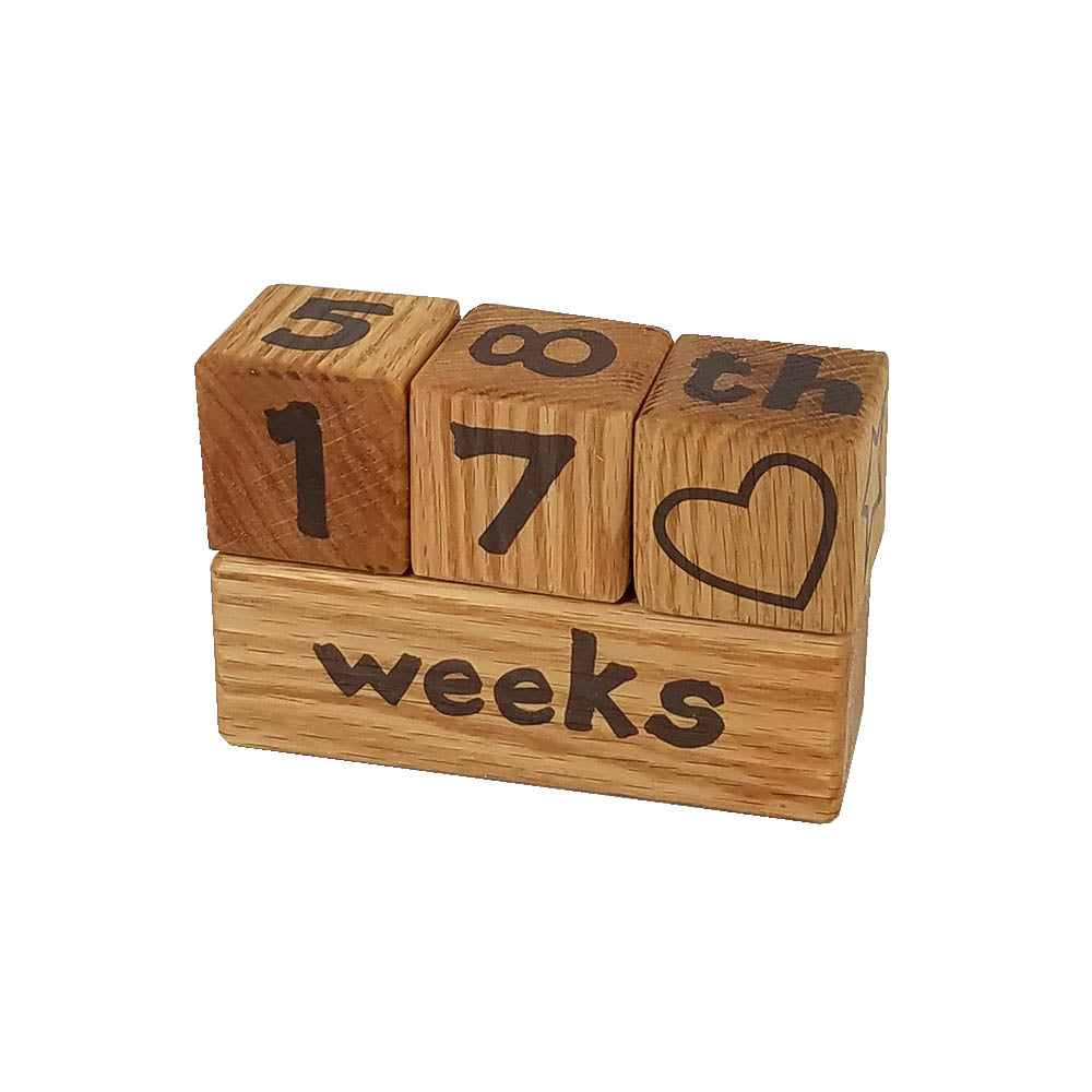 Week/month/year/grade Photo Prop Block Set - Down Home Products