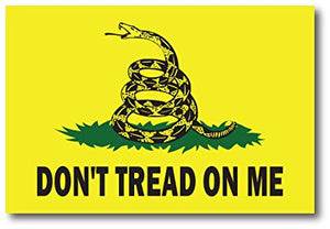 Don't Tread on Me Flag Wall Art - Down Home Products