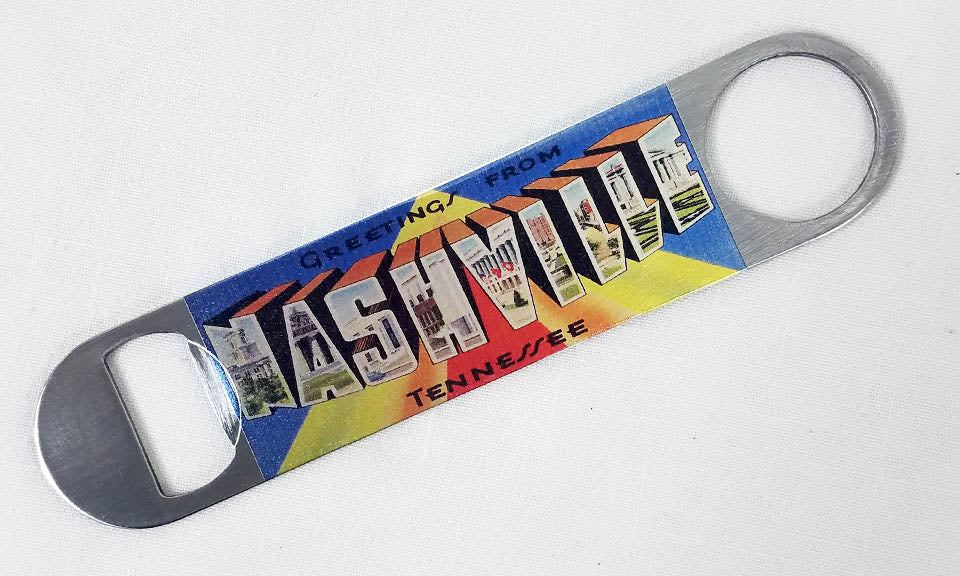 Bottle Openers With Nashville Designs