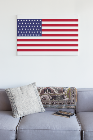 USA Flag Wall Art - Down Home Products