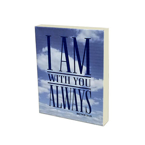 I Am With You on Canvas - Down Home Products