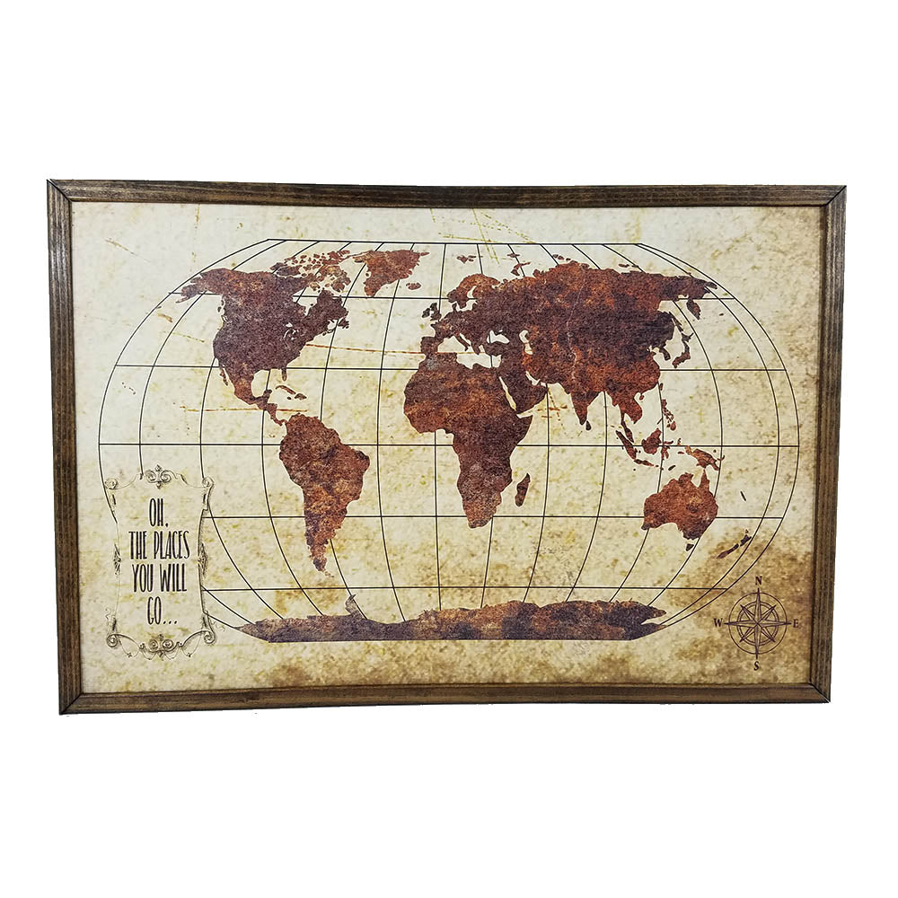 World Art in Brown - Down Home Products