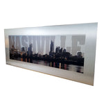 Nashville Skyline on Brushed Aluminum - Down Home Products