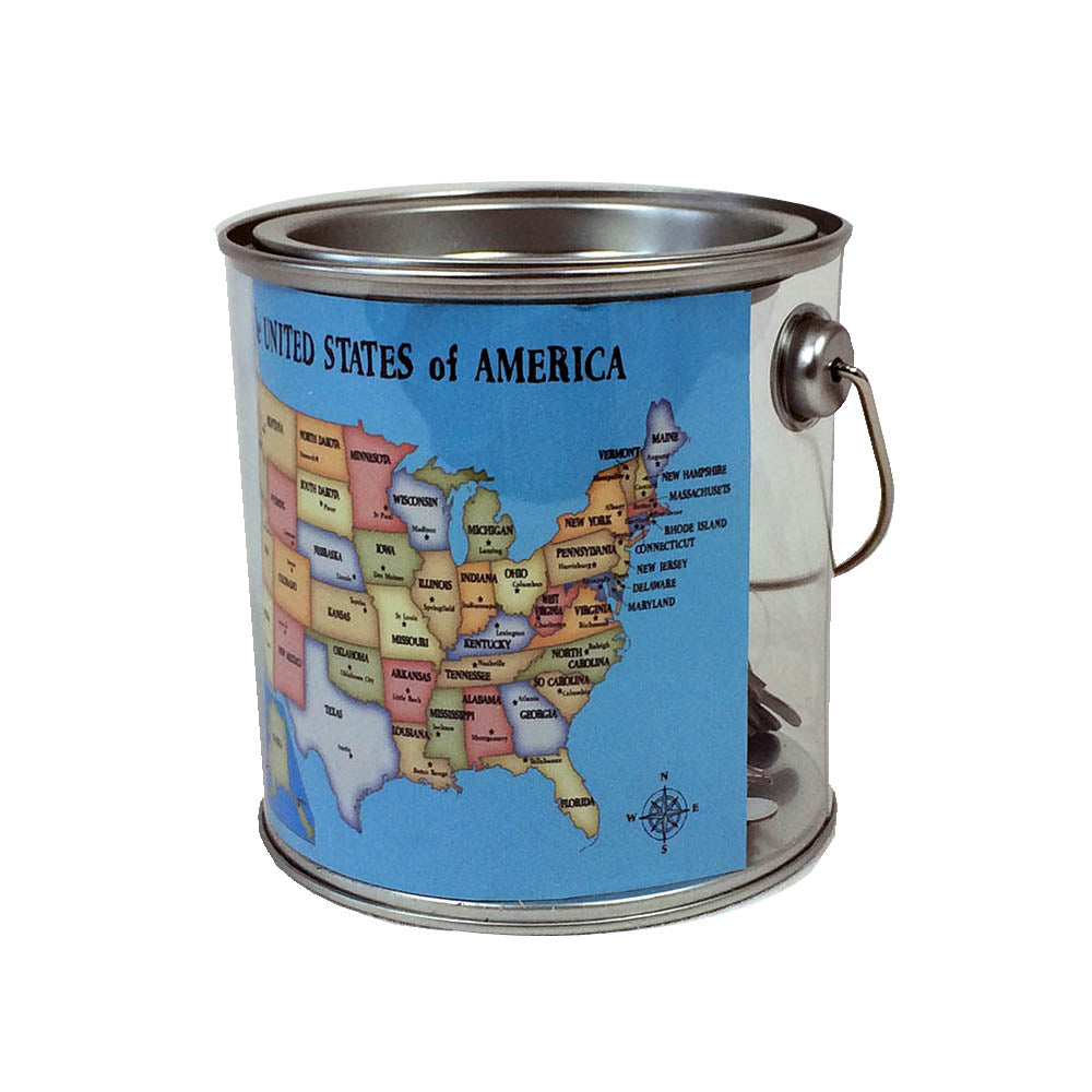 US Puzzles in a Can - Down Home Products
