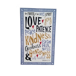 "Wall Art ""Spiritual Gifts"" - Down Home Products"
