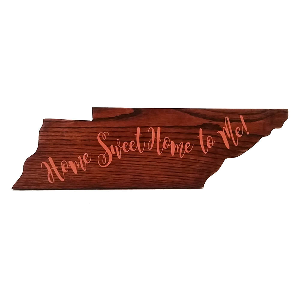 Tennessee State Wood Art - Down Home Products