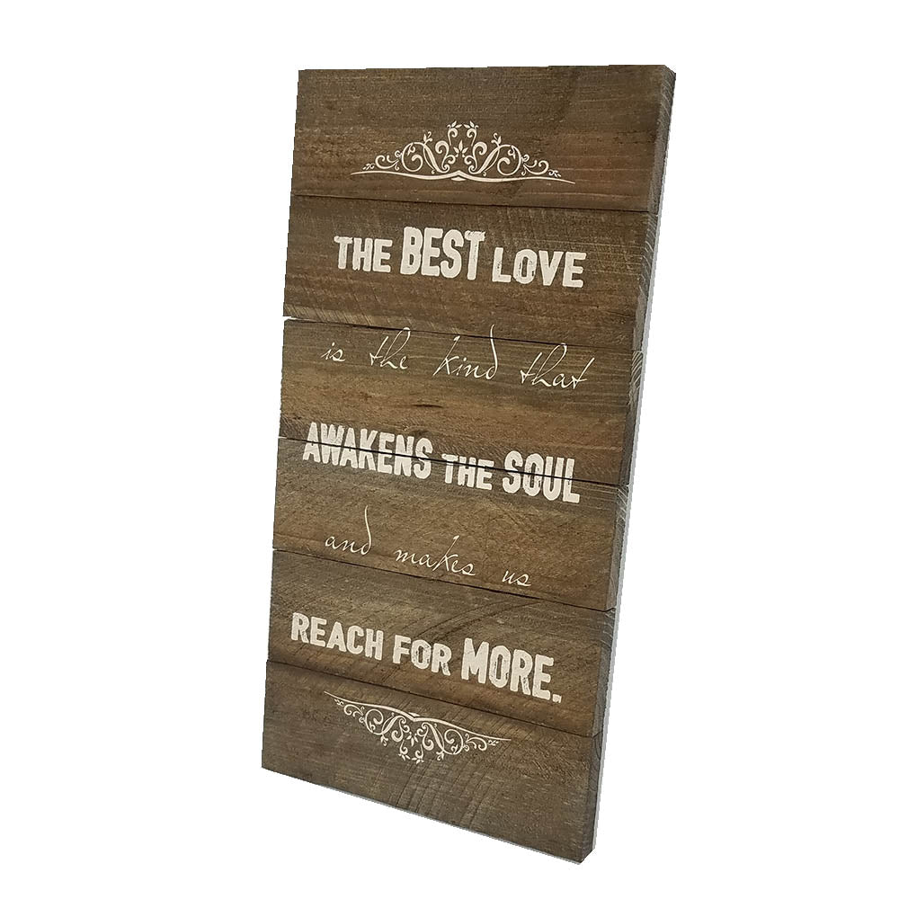The Best Love Wall Art - Down Home Products