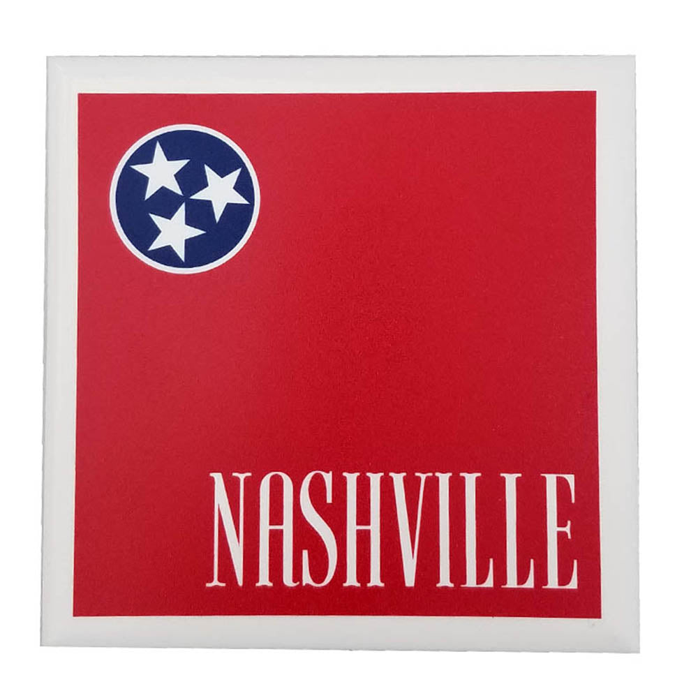 Nashville Tennessee Porcelain Coaster - Down Home Products