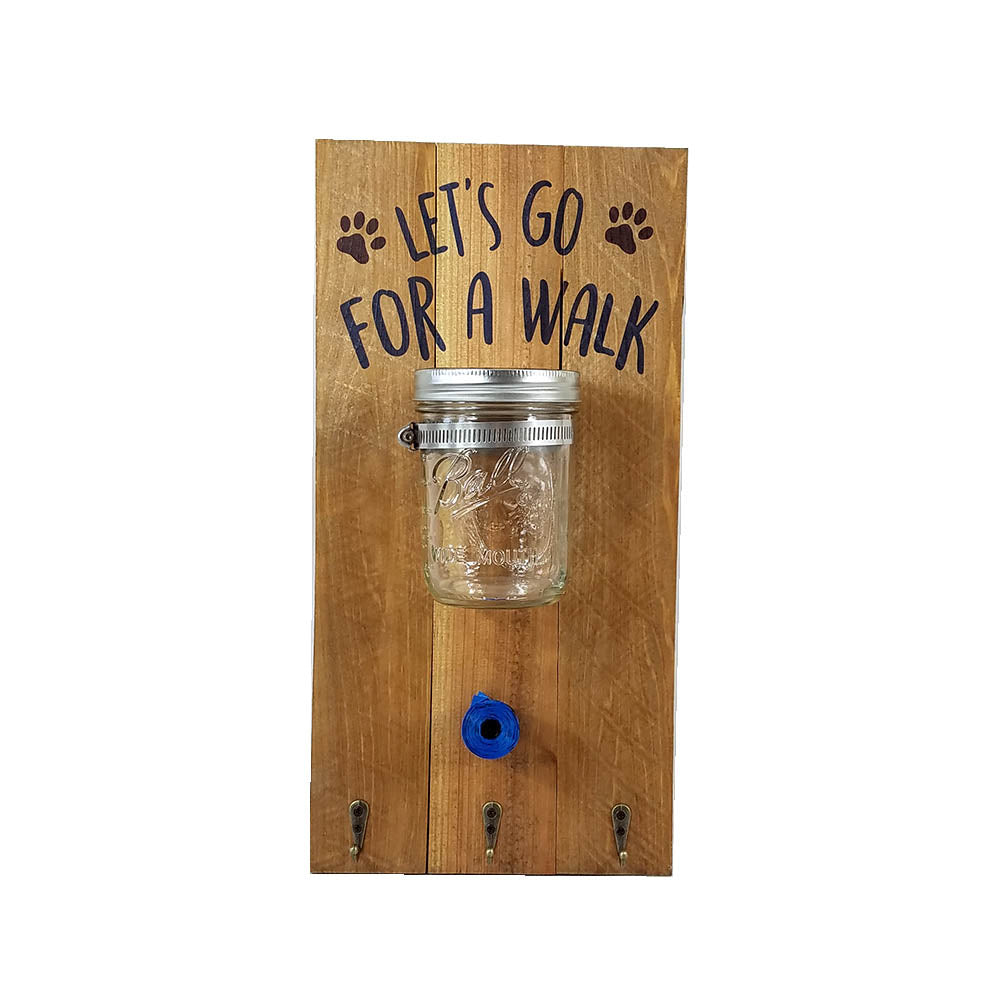 Take Me for a Walk Leash Hanger