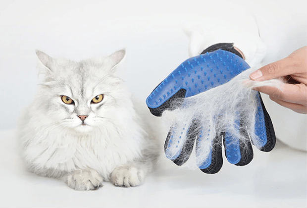 Deshedding Pet Hair Remover Glove