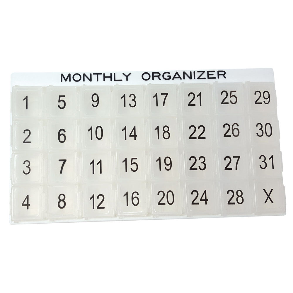 31 Day Monthly Organizer System