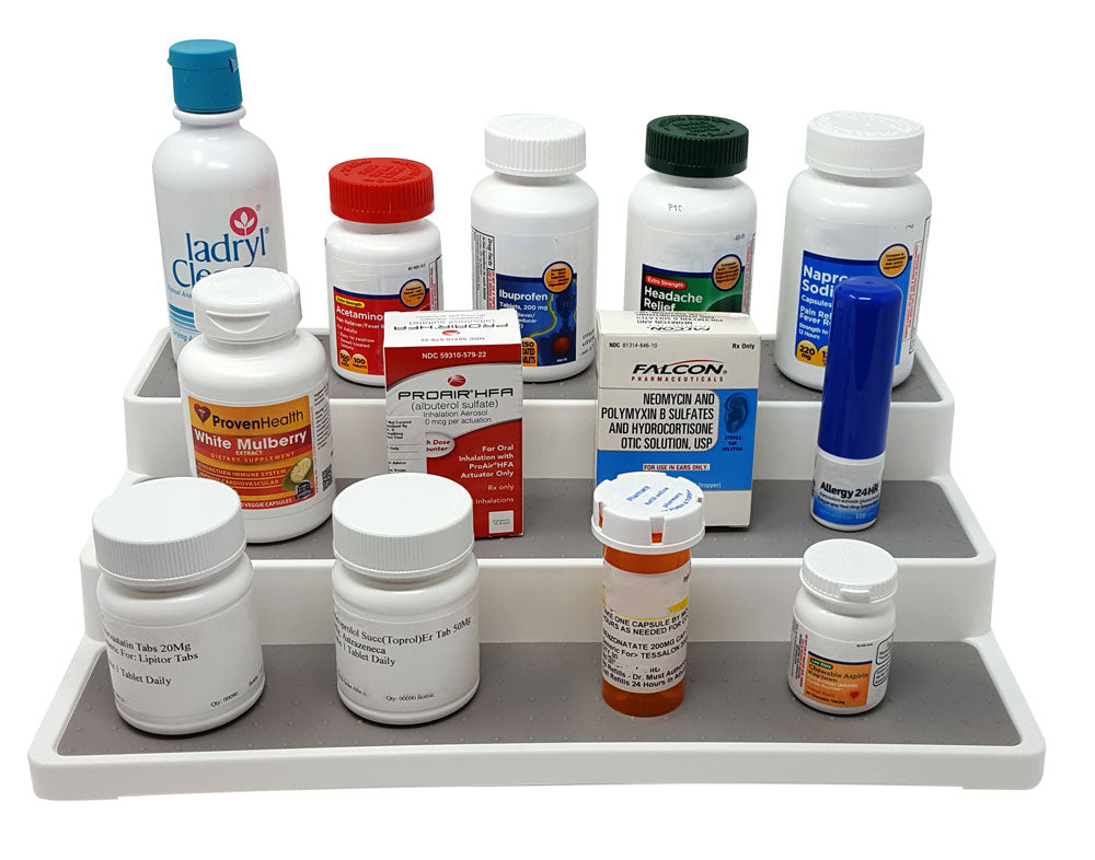 Medication 3 Tier Shelf Organizer