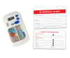 Divided Drawer Pill Timer with Bonus Medical Alert Card