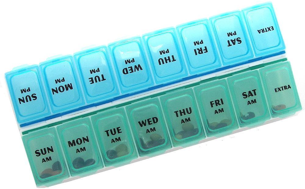 Medium Twice a Day Pill Organizer