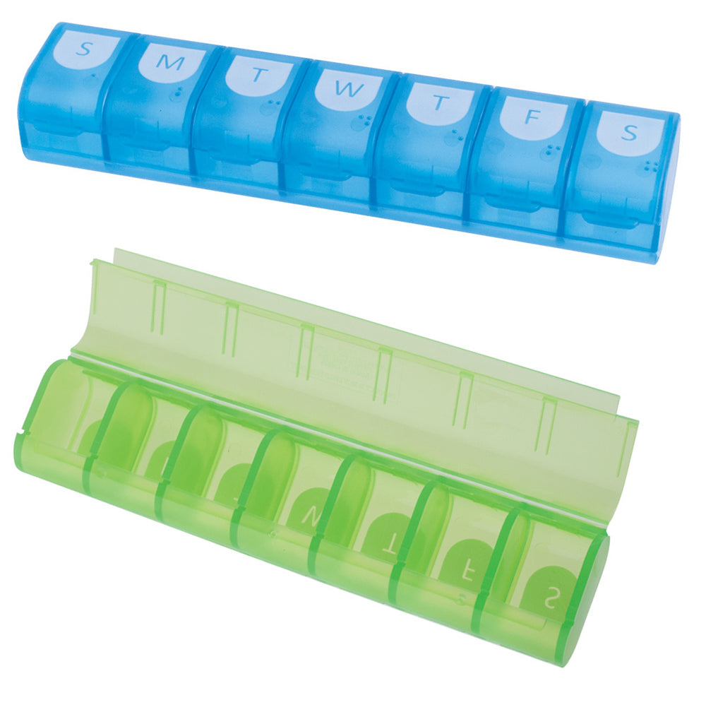 Easy Fill Weekly Pill Organizer