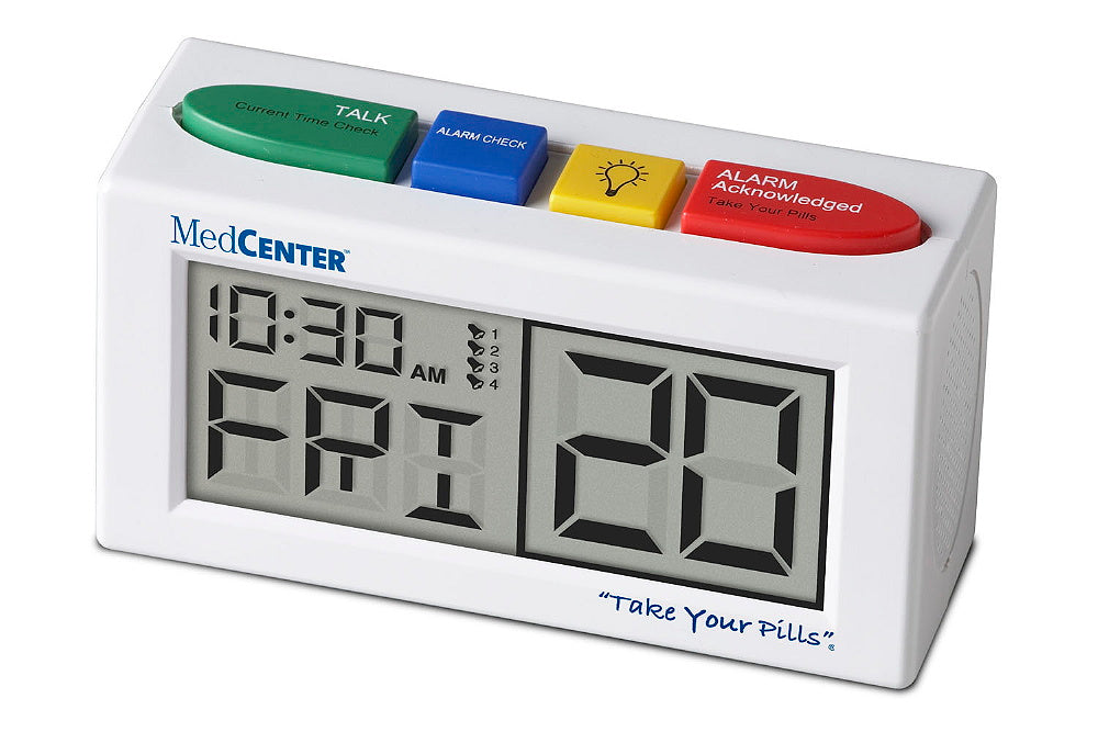 MedCenter Talking AlarmClock