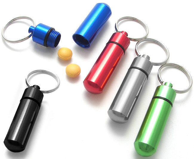 Economy Key Ring Pill Box