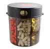 Monster Pill Dispenser with Compartment Labels