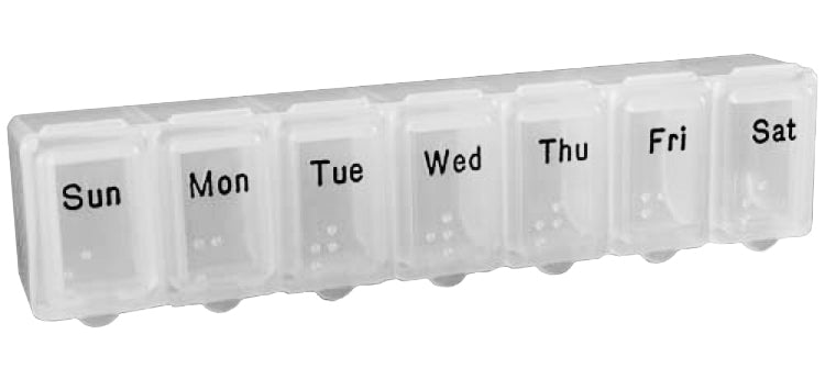 Small Weekly Pill Box