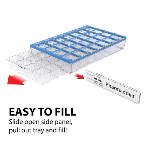 Pharmadose Weekly 4X a Day Pill Box