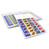 Weekly, 4 Time a Day, Cold Seal Medication Blister Cards - Book Fold 6 Pack