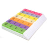 MedWrite 4X Weekly Pill Organizer - Medium