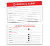 Medical Alert Car Emblem Kit