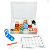 Pill/Supplement Organizer Tray with 17 Compartments