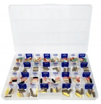 The Olympic 4X a Day Weekly Pill Case
