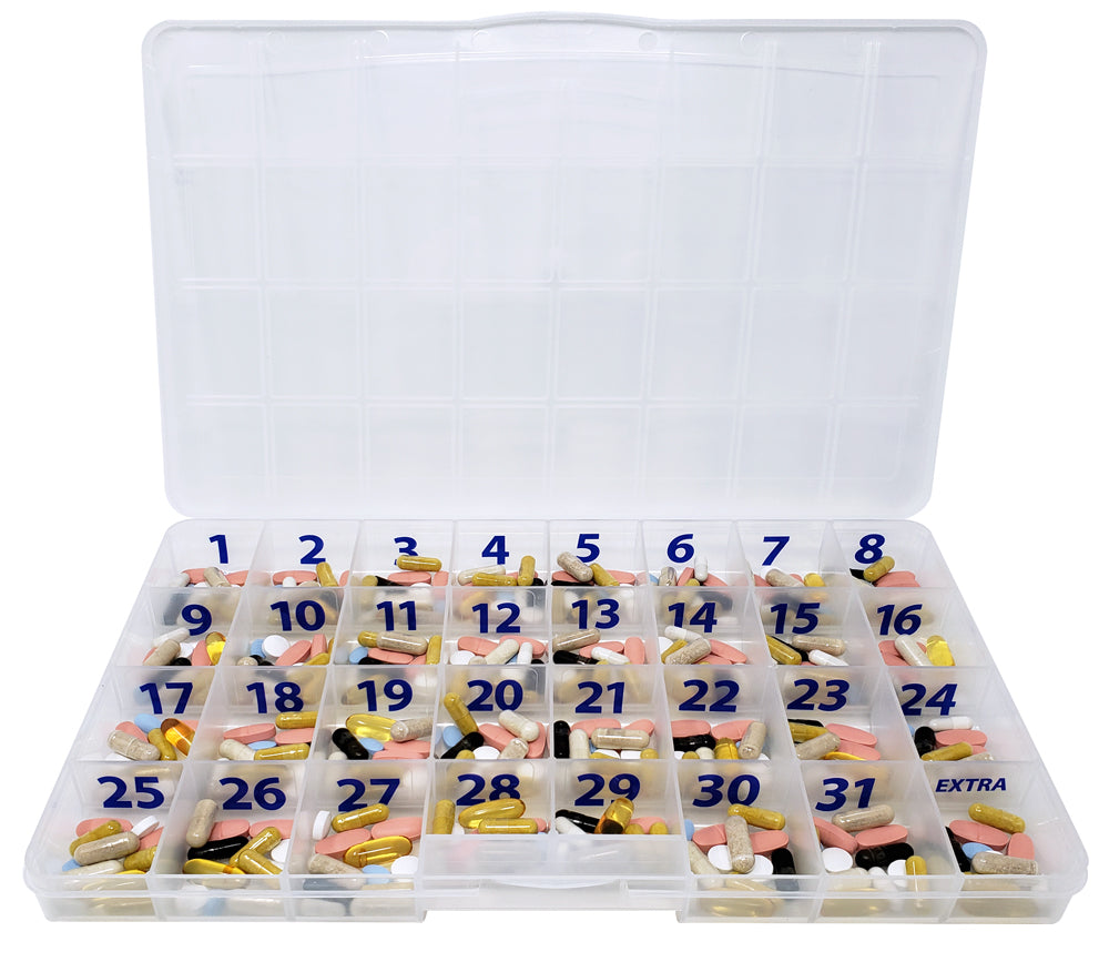 The Olympic Monthly Pill Case
