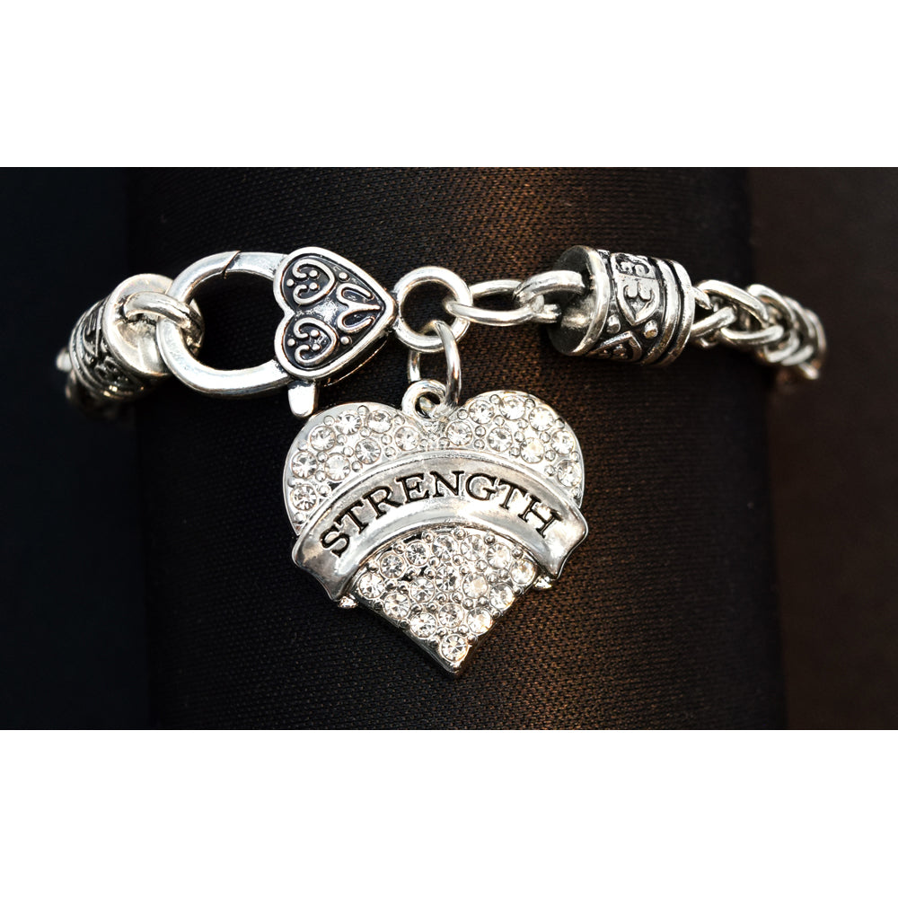 STRENGTH Heart Bracelet