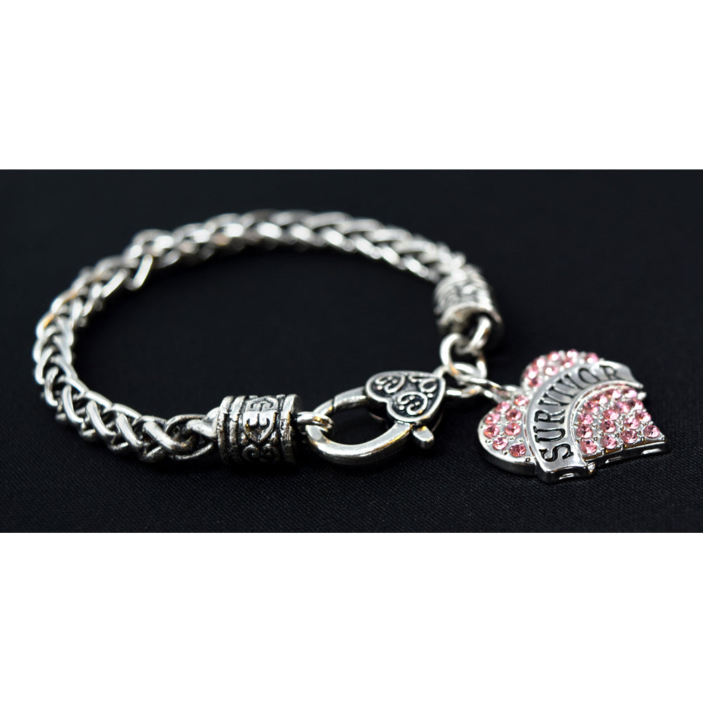 SURVIVOR Heart Bracelet