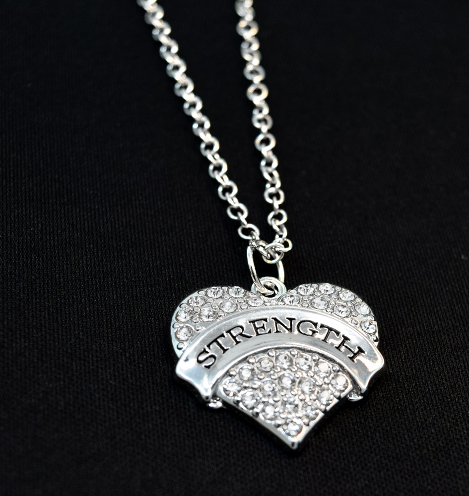 STRENGTH Heart Necklace