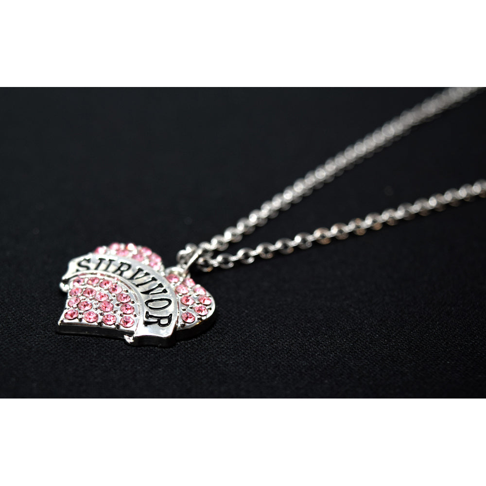 SURVIVOR Heart Necklace