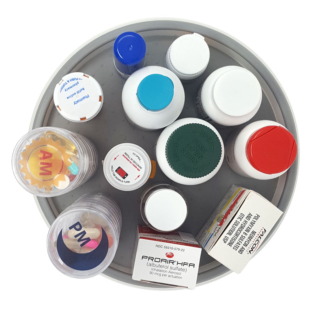 Medication Single Level Turntable