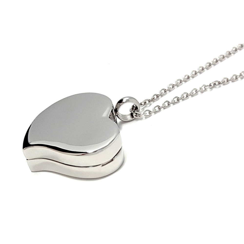 Amour Heart Pill Necklace