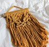 Mini Mustard Macrame Wall Hanging