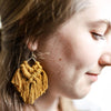 Boho Macrame Earrings