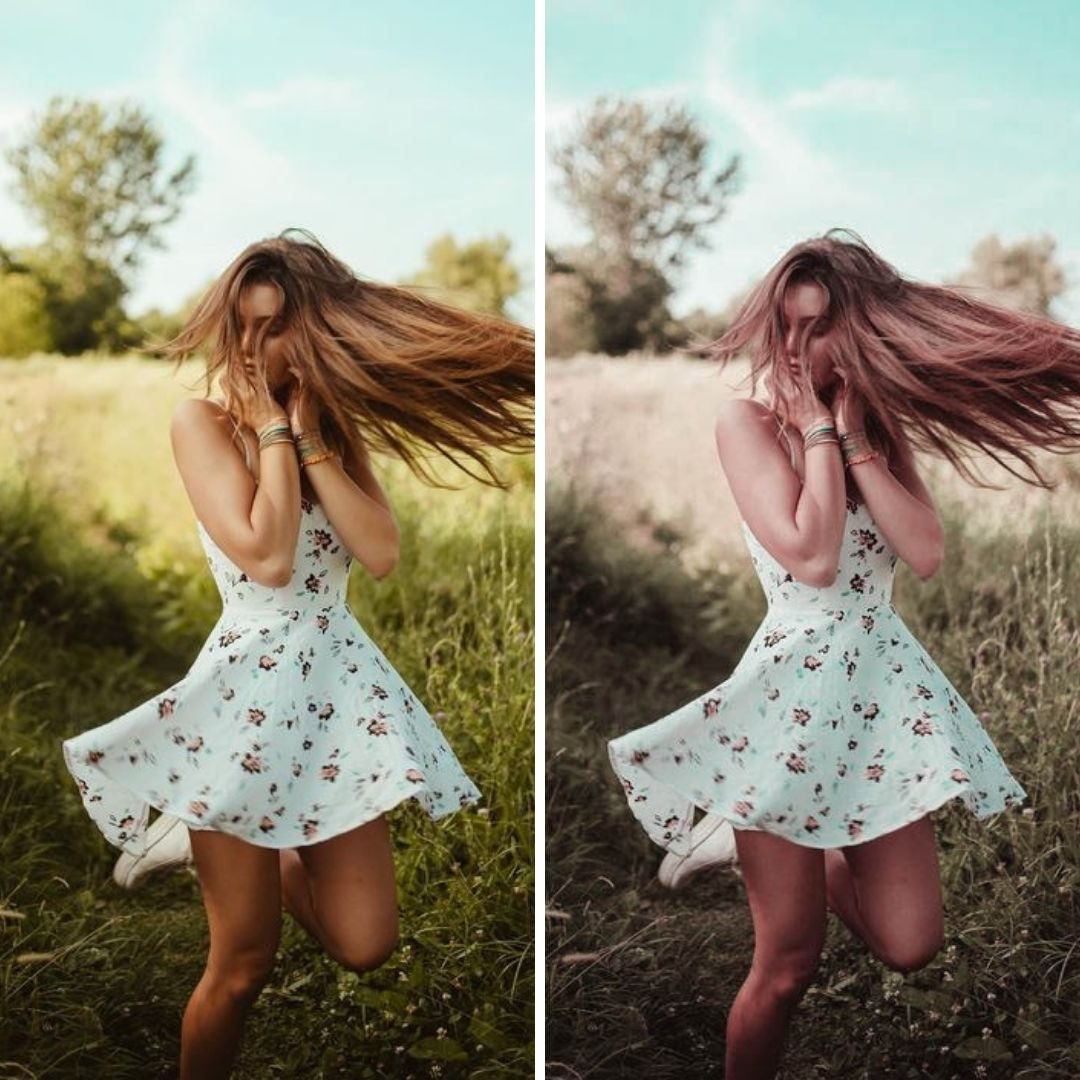 10 Lightroom presets Boho Light mobile lightroom presets Blogger Insta Travel Outdoor Lifestyle - PresetsLightroomArt