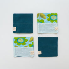 Fabric Coaster Set - Flower Meadow