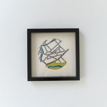 Hand Embroidered Map - The Ward Guelph