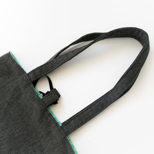 Organic Canvas Tote Bag - Rainbow