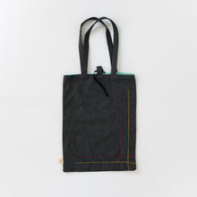 Organic Canvas Tote Bag - Rainbow Rows