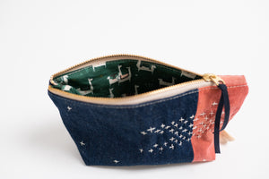 Small Zippered Bag - Madder Root