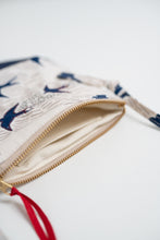 Blue Swallows Cross Body Bag